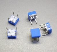 5 Stück Taster (Schließer) 8 x 8 mm - blau (M3712)