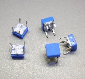 5-Stueck-Taster-Schliesser-8-x-8-mm-blau-M3712