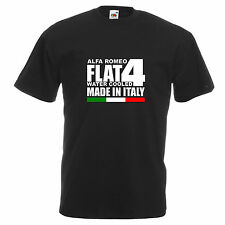 ALFA ROMEO ALFETTA 33 145 146 SPRINT Retrò Auto Auto Racing ispirato T SHIRT