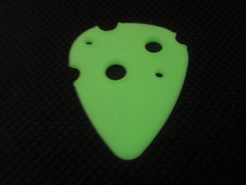 Glow In The Dark ! ATOMIC Dunlop Who? Guitar Picks Swiss Picks 1.10.mm