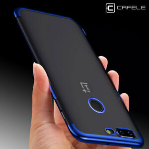 buy popular 448ab 8830f Details about CAFELE Shockproof Plating Clear Slim Soft Silicone Case Cover  For OnePlus 5T & 5