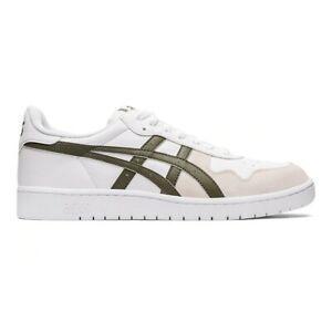 Asics-Tiger-Japan-S-Sneaker-Uomo-1191A328-103-White-Mantle-Green