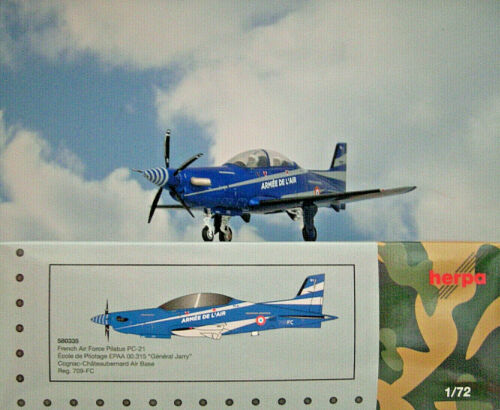 Herpa Wings 1:72 Pilatos pc-21 French Air Force 709-fc 580335