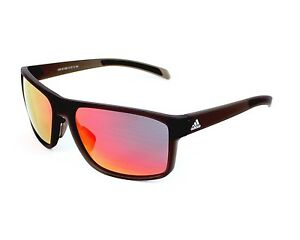 3079f1d173d Image is loading Adidas-Sunglasses-A423-6053-Umber-Matte-Translucent -Authentic-