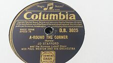 JO STAFFORD AROUND THE CORNER & DON'T WORRY BOUT ME COLUMBIA DB3025