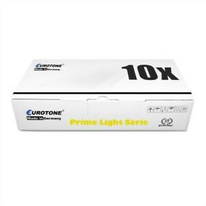 10x Eurotone Prime Toner / Chip For Kyocera FS-9530-DN FS-9130-DN/B FS-9530-DN/B