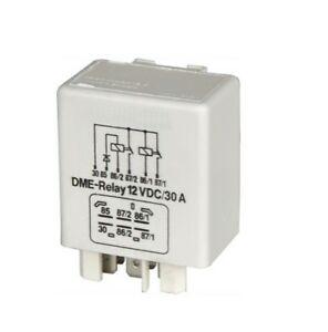 Fuel-Pump-Relay-DME-Fits-Volvo-240-740-760-780-940-960-2-0-2-3-2-4D-2-4TD-White