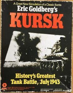 Kursk Classic Jeu de bataille avec instructions de Eric Goldberg Vintage