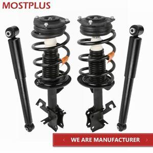 Set(4) Front & Rear Struts Shock Absorbers Assembly Fit 07-12 Nissan Sentra 2.0L