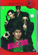 KILL DIL (RANVEER SINGH, PARINEETI CHOPRA) - BOLLYWOOD 2 DISC SPECIAL. ED  DVD