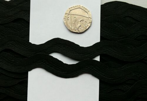 Nouveau 2 mètres 10MM large ricrac ric rac trim sewing craft