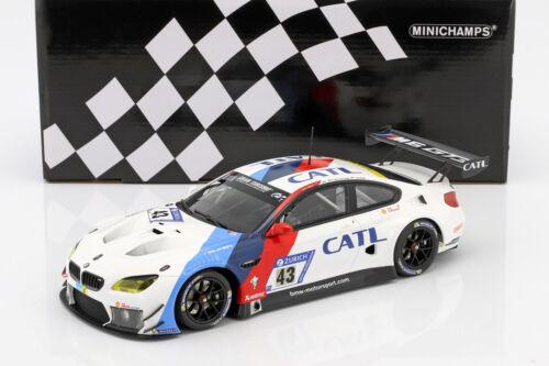 BMW M6 GT3 #43 24h Nürburgring 2017 Farfus Scheider 1:18 Minic Da Costa Lynn