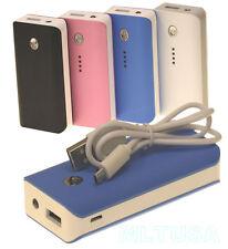 5600mAh Portable External Backup Power Bank Battery Charger for Smart Phones