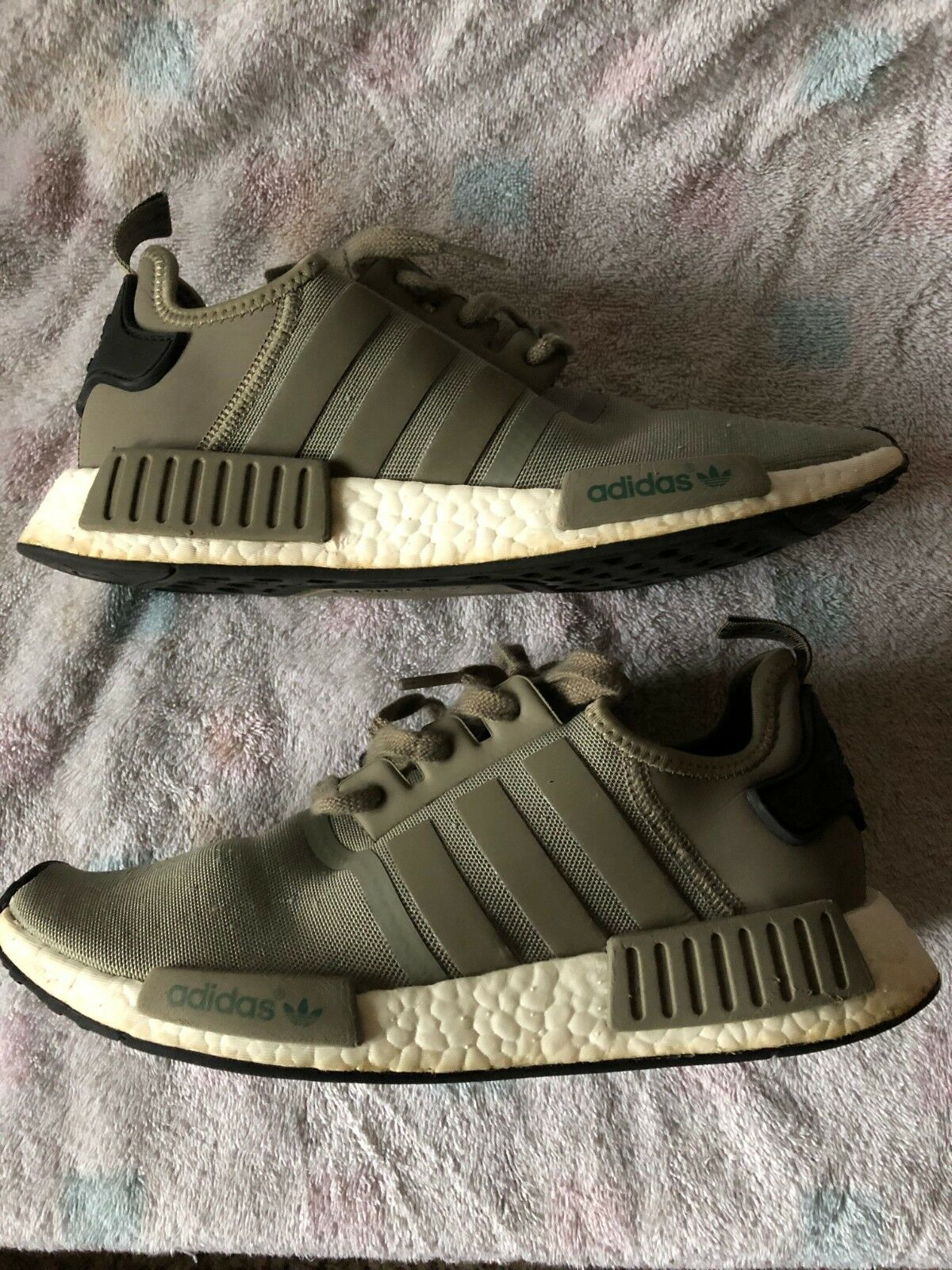 963e6efdb0d5c Adidas NMD R1 Runner Mesh Trace Cargo Trail Olive Olive Olive BA7249 Men  Size c868a3