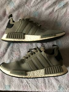 f4c12c31894c8 Adidas NMD R1 Runner Mesh Trace Cargo Trail Olive BA7249 Men Size