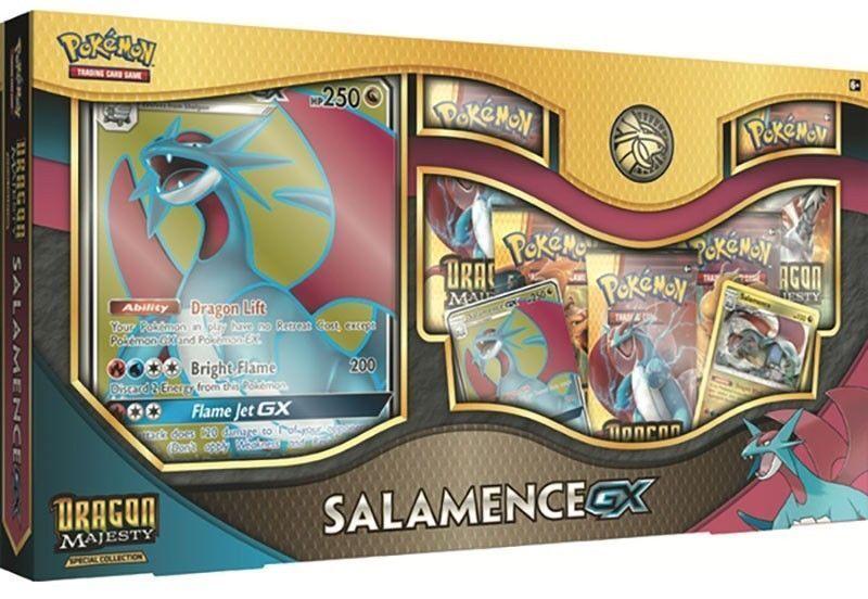 Pokemon Dragon Majesty Salamence GX Special Premium Collection Box NEW   Sealed