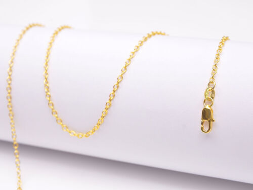 1PCS Gold Filled Rolo Chain Making Pendant Necklace Accessories Jewelry Necklace