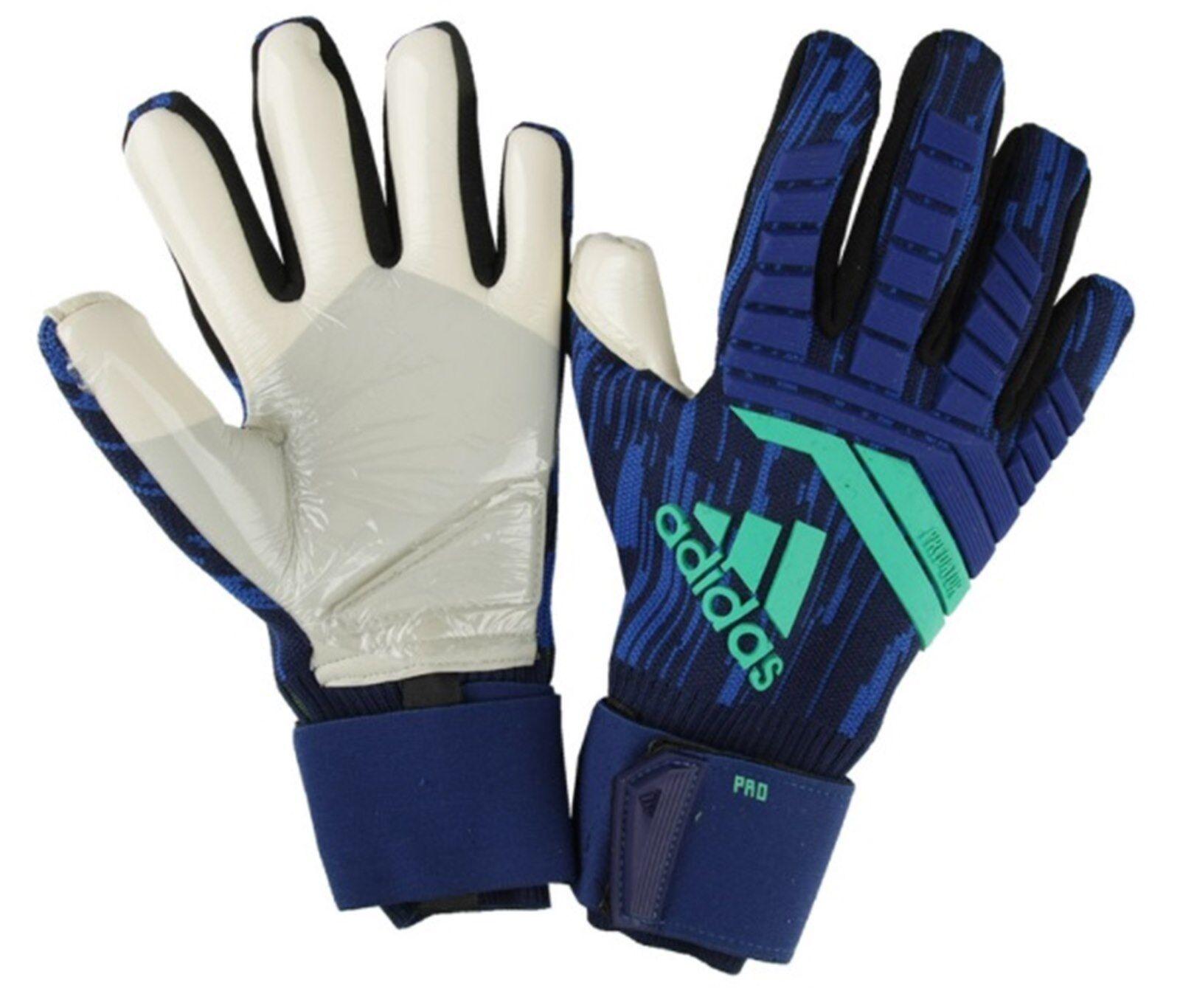 Adidas Hombres Projoator Pro Guantes de Portero GK Azul Marino Fútbol Fútbol Arquero CF1353