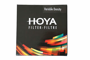 Hoya-Variable-Density-Filter-3-400-neutrale-Dichte-variabler-Graufilter-ND