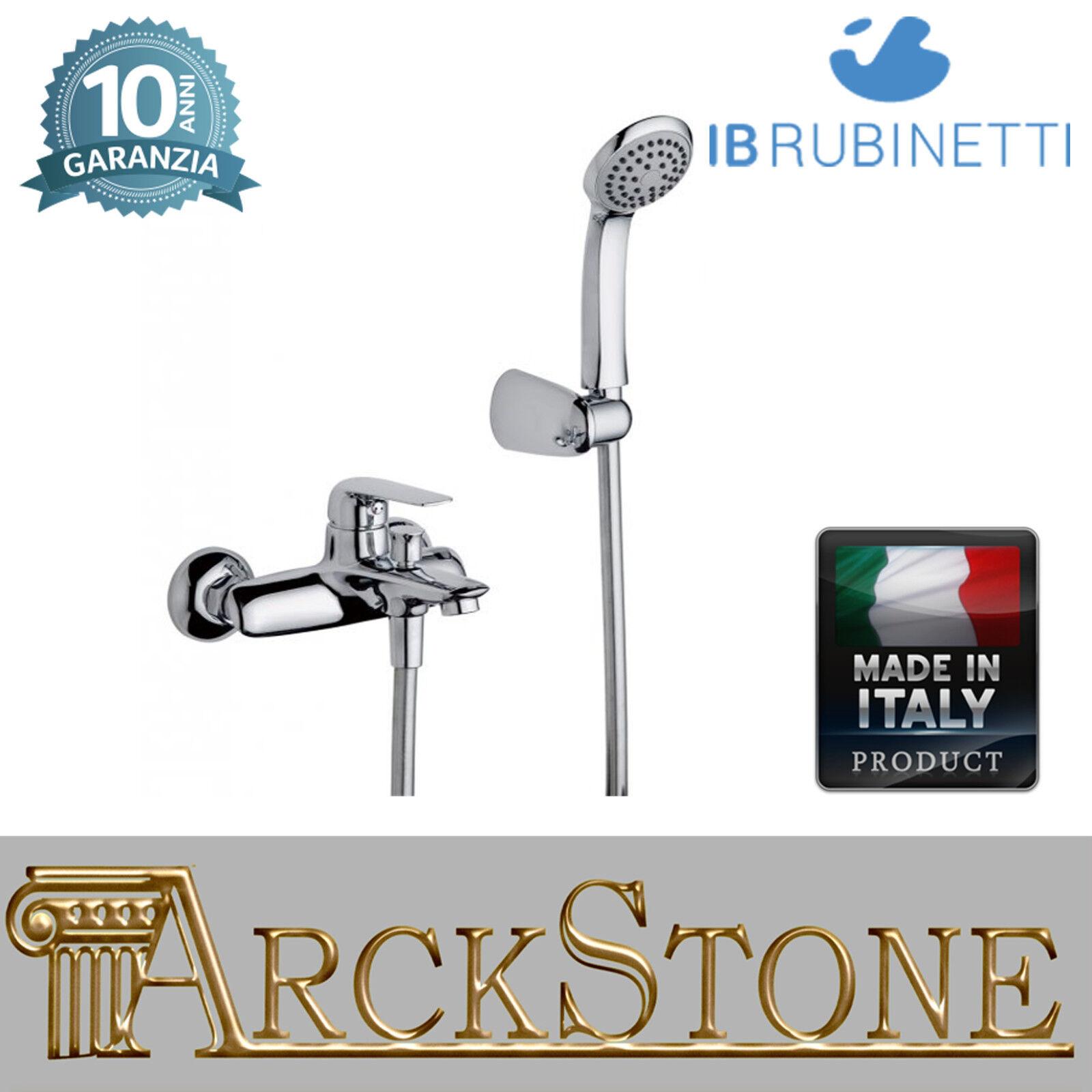 Miscelatore gruppo vasca esterno parete accessori doccia IB rubinetti MagicTouch