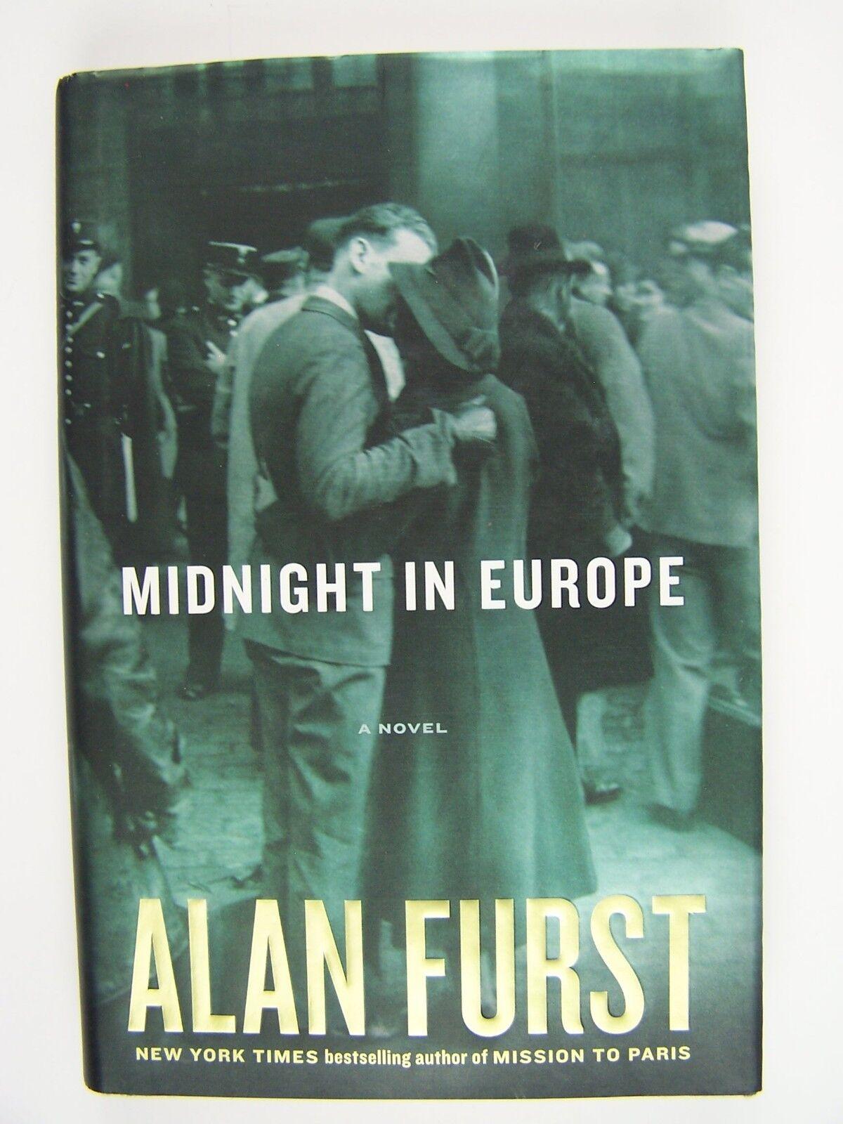 Alan Furst Midnight In Europe Hardcover First/1st Editi