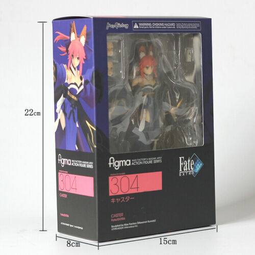Extra Caster Tamamo No Mae PVC Action Figure Toys New In Box Figma 304 Fate