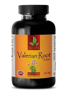 VALERIAN-ROOT-EXTRACT-Relaxation-Tranquil-Rest-Sleep-Support-100-Capsules