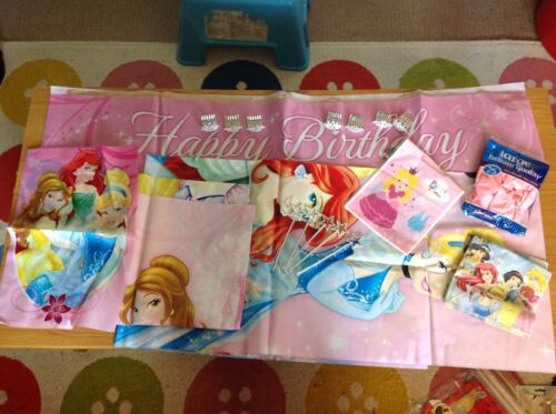 Girls princess party bundle decorations