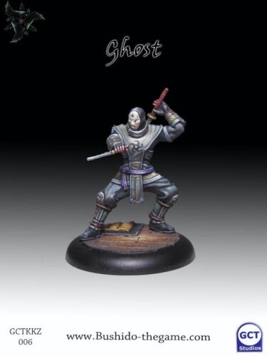 BUSHIDO BNIB gctbkk006 Ghost