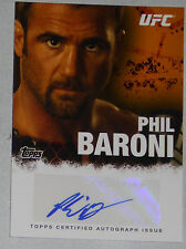 Phil Baroni Signed UFC 2010 Topps Card #FA-PC Autograph 125 34 39 48 51 30 Pride