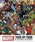 Marvel Year by Year Updated edition by DK (Hardback, 2017)
