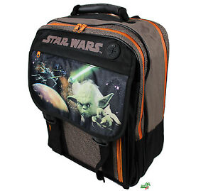 STAR WARS SW13830 Rucksack, Großer Schulrucksack, Yoda, big school backpack NEU