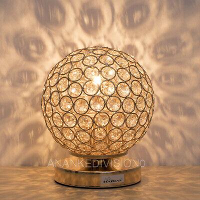 Table Lamps For Bedroom 2 Pack Globe Bedside Nightstand Reading Light Orange