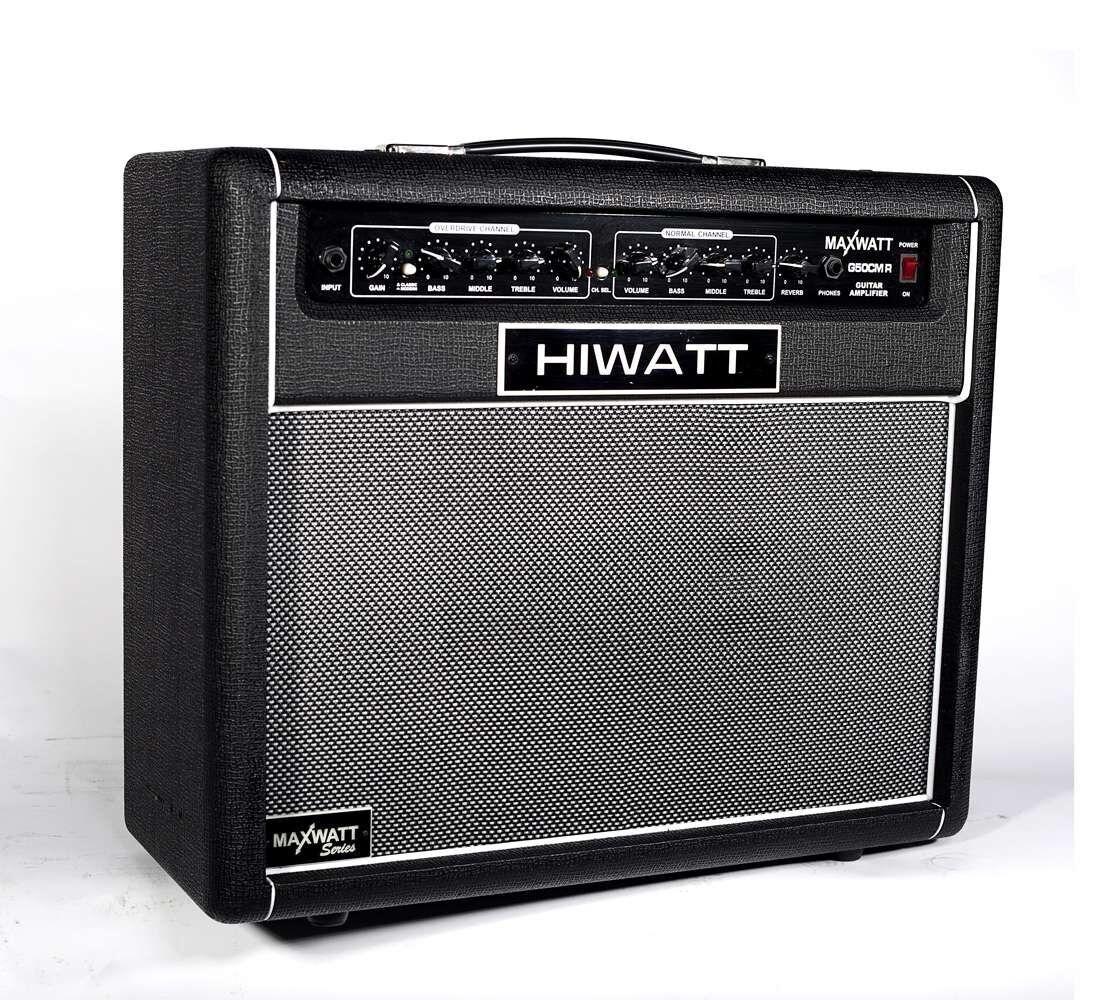 Hiwatt Maxwatt G50CMR 50W Gitarrenverstärker