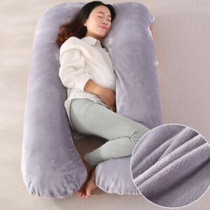 Sanitary Velvet Maternity Pregnant Women Pillow Case, Body Support Nursing
