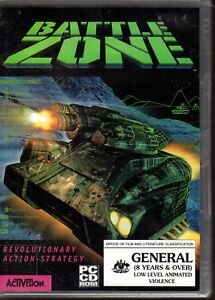 BATTLE-ZONE-PC-GAME-ACTIVISION-1998-BRAND-NEW-amp-SEALED-RARE
