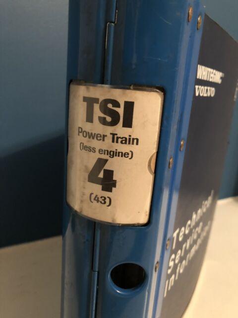 Volvo Tsi Powertrain Truck Service Information Manual