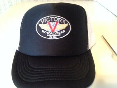 All Cotton Trucker Caps Victory-Motorcycle Snapback Vintage Hats