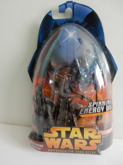 Star Wars Mustafar Sentry #56 REVENGE OF SITH FIGURINE RARE NEW