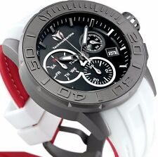 New Mens Technomarine 515004 Swiss Chronograph Sport Watch