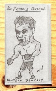 W-R-PRIDDY-BOXING-CARD-NUMBER-24-JACK-DEMPSEY-USA-HEAVYWEIGHT