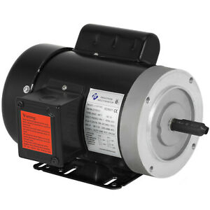 1 hp electric motor 1 phase 56C 115/230 Volt 3600 rpm 120156C