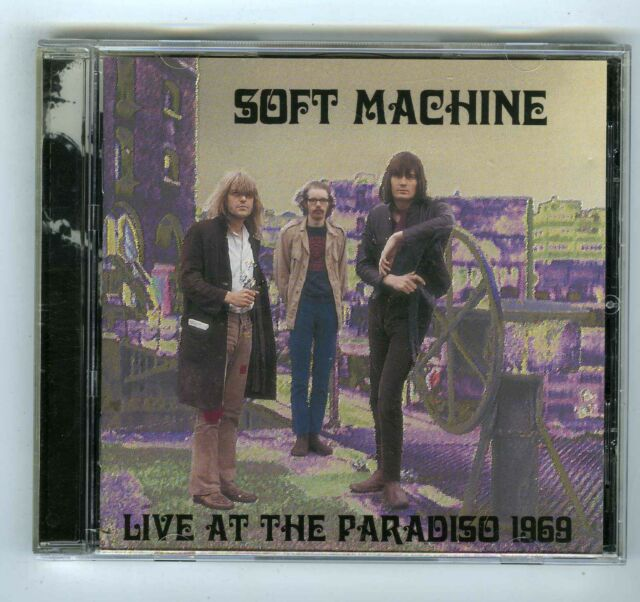 CD SOFT MACHINE LIVE AT THE PARADISO 1969