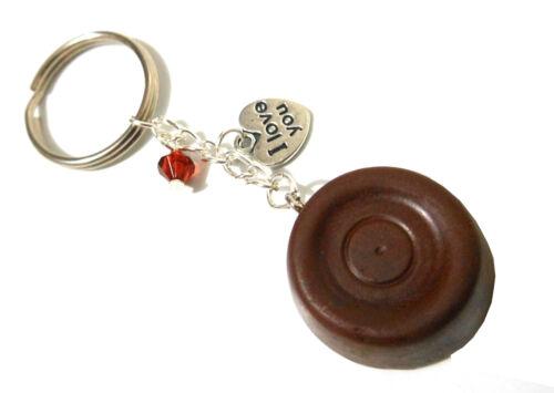 Valentines//Anniversary Gift Handmade My Last Rolo Kitsch Novelty Keyring//Charm