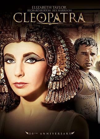 Cleopatra 50th Anniversary Edition 2 DISC DVD SET Starring Elizabeth Taylor - $10.00