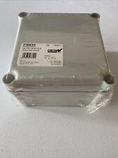 Brand New Sealed Fibox 5320359 Ul Pc 1919 13 G Solid Polycarbonate Enclosure