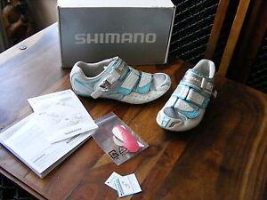 Ladies Womens Girls Shimano SH-WR80 Cycling Bike Shoes UK 6 EU 39 US 7.2 24.5 cm