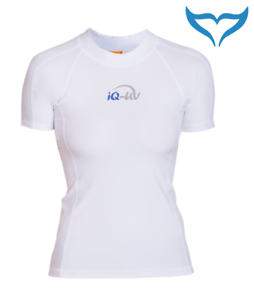 iQ-UV-300-Shirt-Slim-Fit-Ladies-Women-XS-XXL-white-weiss-Damen-Schutz-Sport-NEU