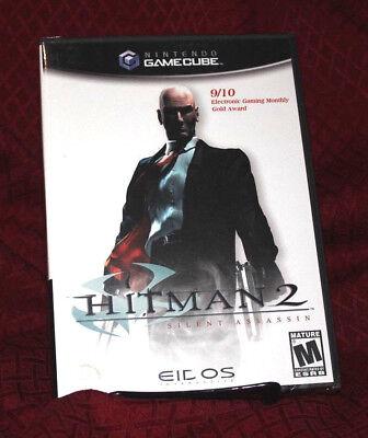 Hitman 2 Silent Assassin New Sealed Nintendo Gamecube 788687400053