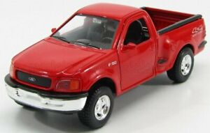 WELLY 1/24 FORD USA | F-150 PICK-UP 4X4 OFFROAD 1998 | RED
